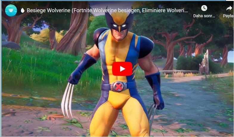 Fortnite 4 Sezon Wolverine'i bul ve yen - İşte nasıl