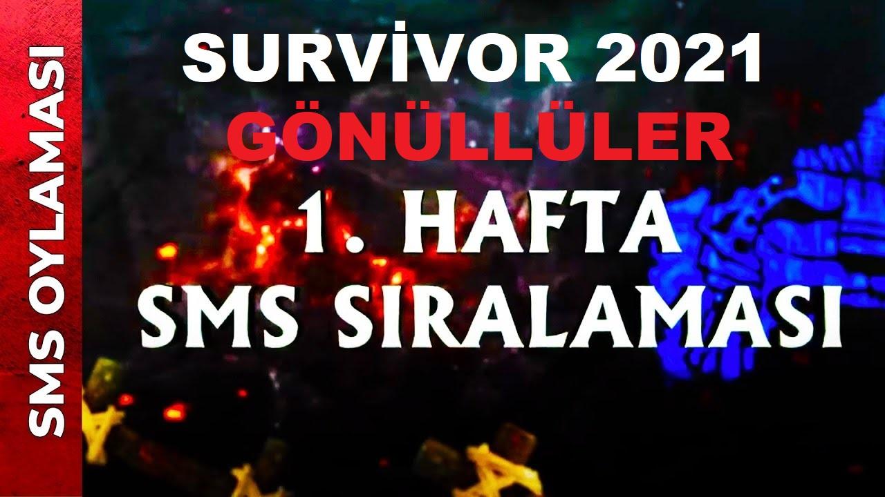 Survivor kim elendi? 6 Nisan Exxen Survivor SMS s\u0131ralamas\u0131 ...