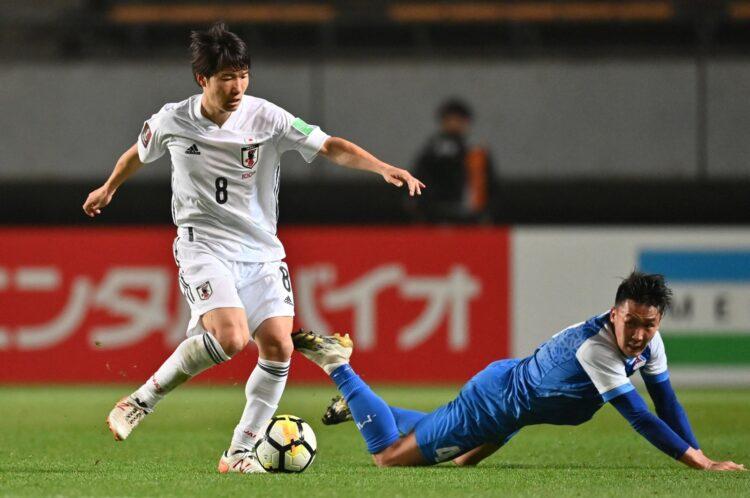 Japonya, Moğolistan'ın 14 gollük rotasında Dünya Kupası eleme rekorunu kırdı