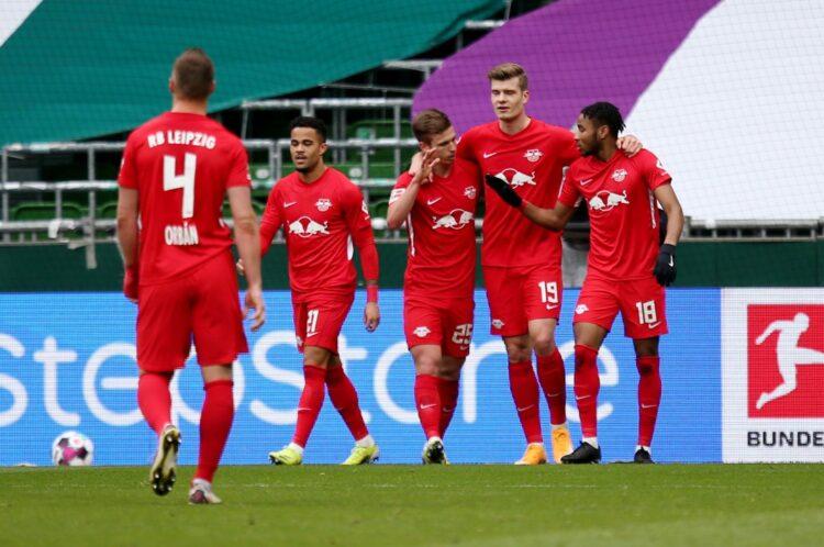 Sorloth, attığı golle Leipzig'i  Bayern'e yaklaştırdı