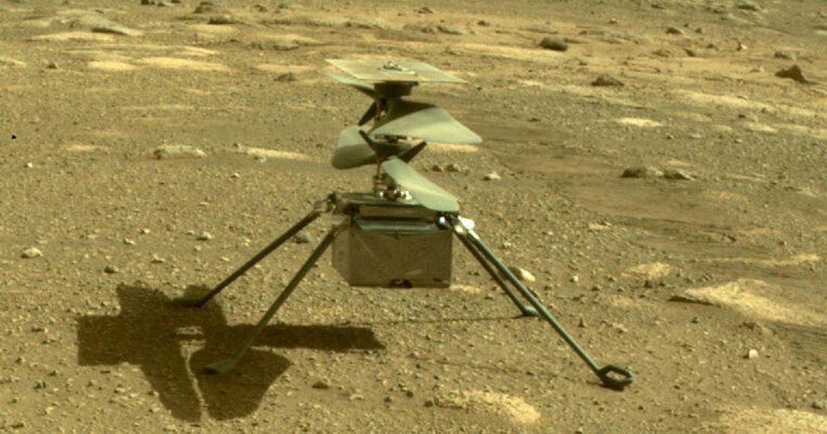 Mars Ingenuity helikopterinin dördüncü uçuşu henüz yerden inmiyor