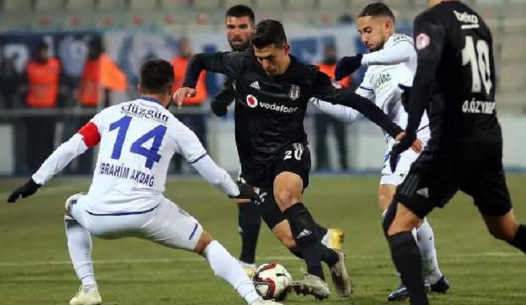 Maç Sonucu: Erzurum (2-4) Bjk maç özeti ve golleri izle Youtube Bein Sport BB Erzurumspor Beşiktaş maçı kaç kaç bitti?