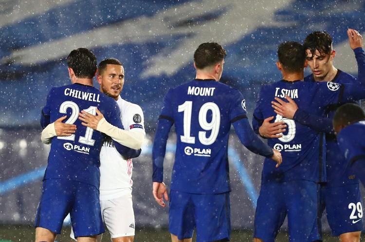 Real Madrid, Şampiyonlar Ligi yarı finalinde Chelsea ile evinde berabere kaldı