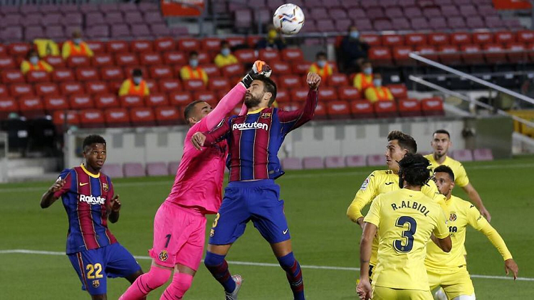 Villarreal (1-2) Barcelona Maçı Özeti ve Golleri İzle Youtube Barça'yı Griezmann kurtardı!