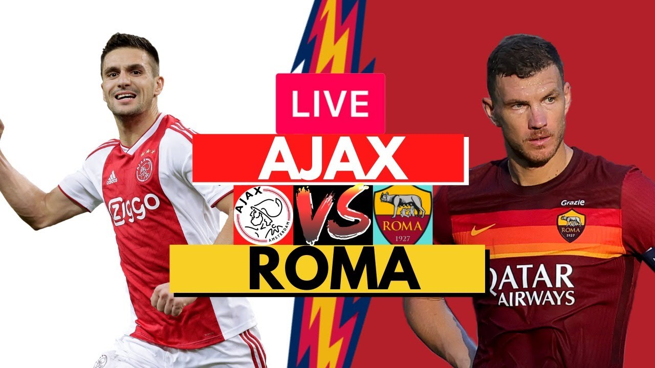Roma (1-1) Ajax maç sonucu, Roma'nın rakibi Manchester United oldu