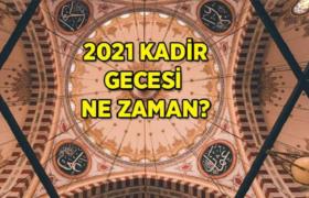 Kadir gecesi 2021